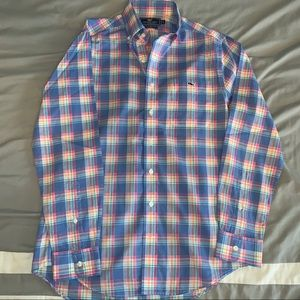 Vineyard Vines Plaid Oxford